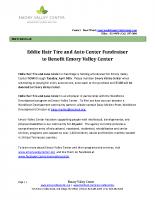 2019 Eddie Hair Fundraiser