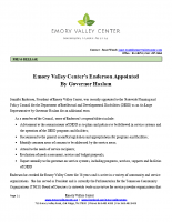Jennifer Enderson Appointment