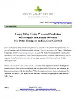 2019 Emory Valley Center Spring Fundraiser