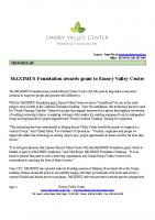 Maximus Grant Award