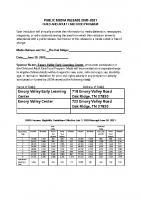EVC Child & Adult Food Program 2020