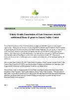 Trinity Phase II Grant Award9