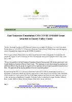 ETF_CNS COVID Grant